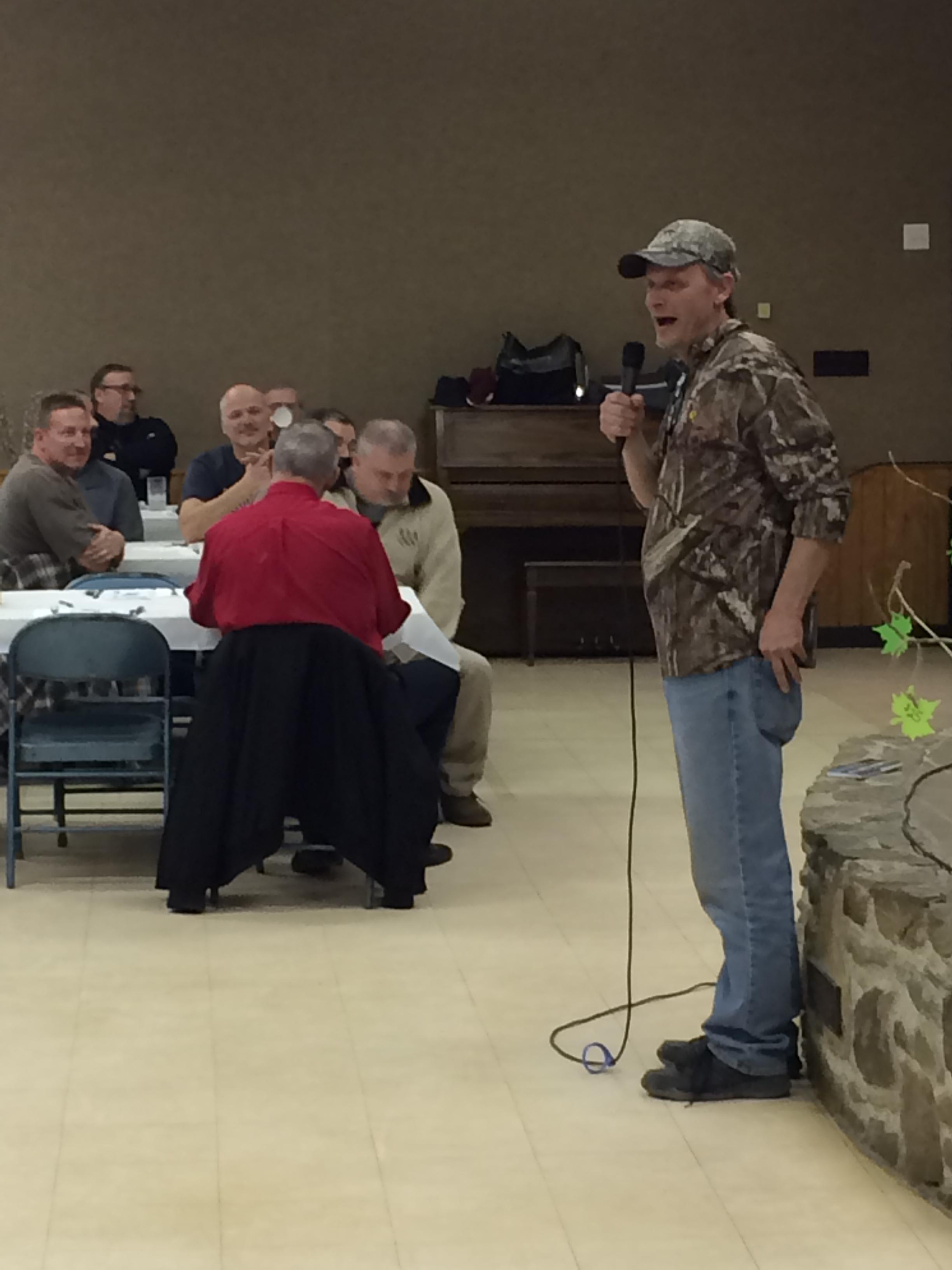 April 2018 Sportsmen Fellowship Ministries Banquet