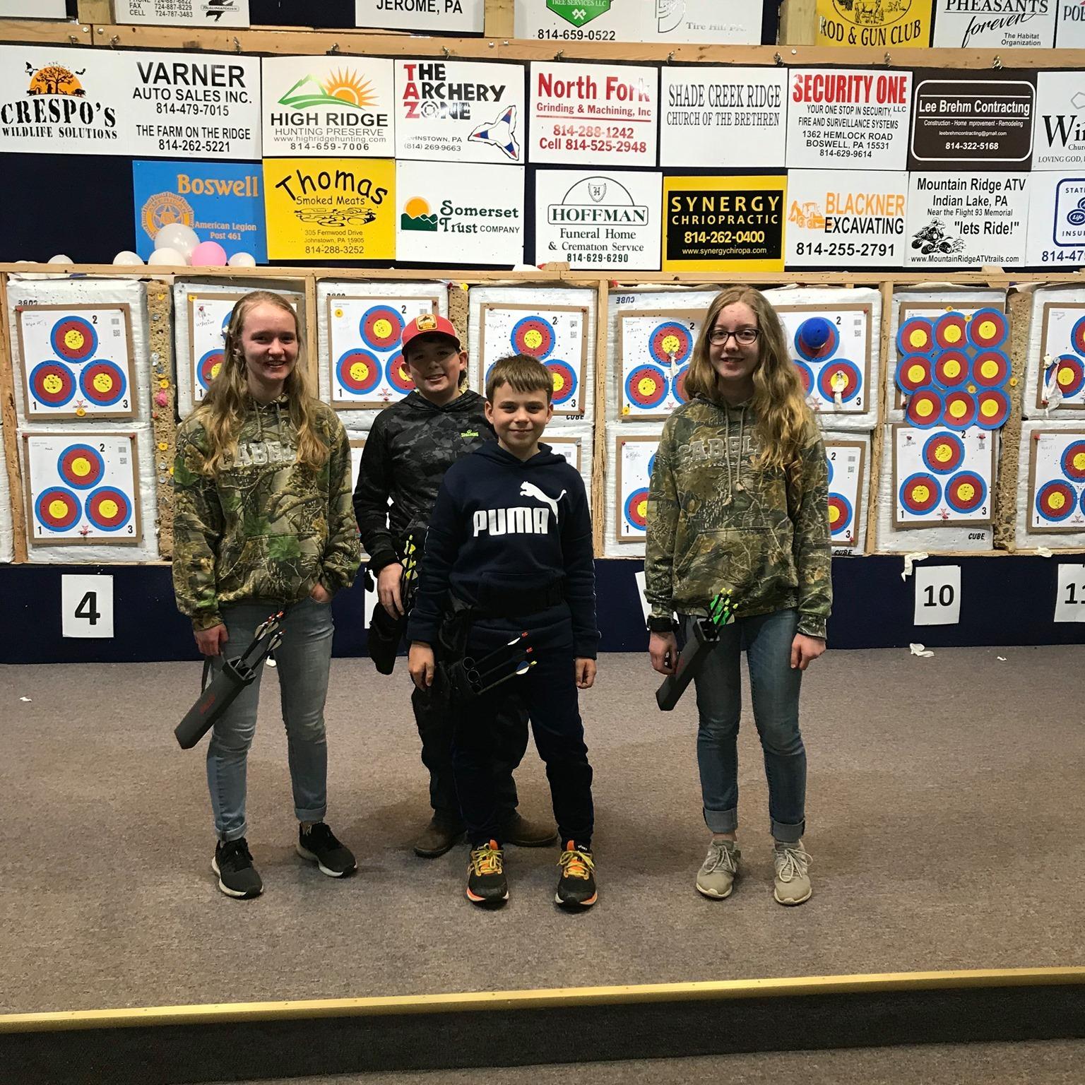 Children's Indoor Archery at Sportsmen Fellowship Ministries