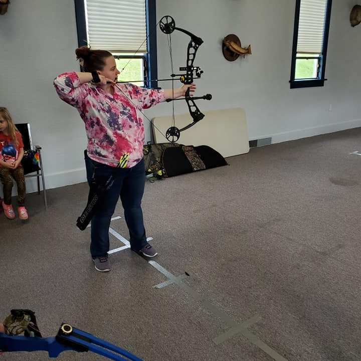 Women's Indoor Archery at Sportsmen Fellowship Ministries