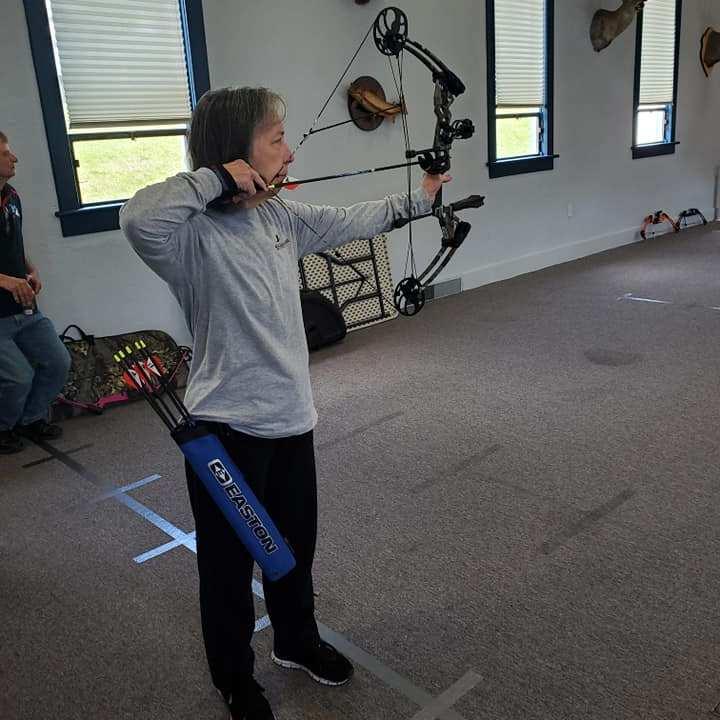 Women's Archery at Sportsmen Fellowship Ministries