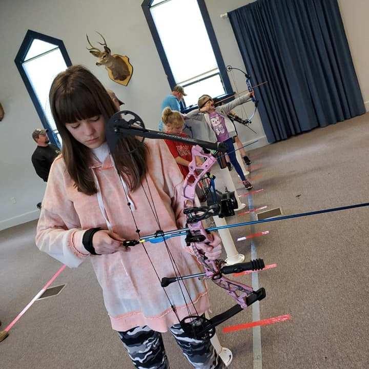 Children's Archery at Sportsmen Fellowship Ministries